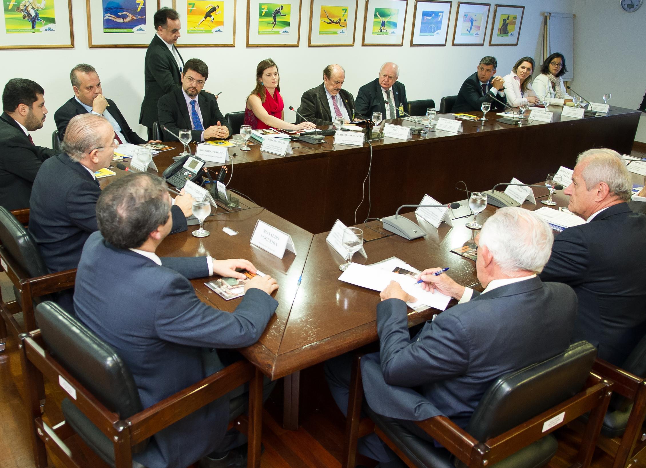 Reunião do GT de Comunicação da reforma trabalhista criado pela Casa Civil